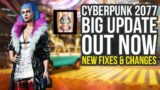 Cyberpunk 2077 Update 1.04 Out Now – New Fixes & Changes (Cyberpunk Update 1.04)