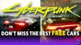 Cyberpunk 2077 – Find the Fastest & Most Iconic Hidden Cars (Spoiler Free)