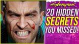 Cyberpunk 2077 – 20 HIDDEN Secrets You Missed!